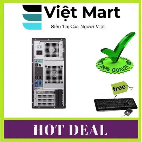 PC Dell Precision T1700 MT - i5 4570 - R8GB- HDD500GB- GTX 1050TI 4GB