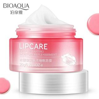 Hũ mặt nạ dưỡng ẩm và trị môi thâm Bioaqua - gelmoi 1