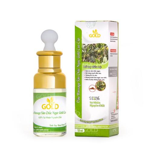 Dầu Massage Săn Chắc Ngực Gold Cao Cấp 50 ml