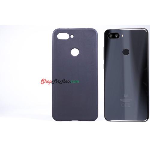 Ốp Lưng Dẻo Đen Nhám Xiaomi Mi 8 Lite
