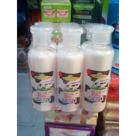 01 Muối tắm sữa bò Rose Spa Milk Salt tẩy tế bào chết Thái Lan 250gr - GreenRose