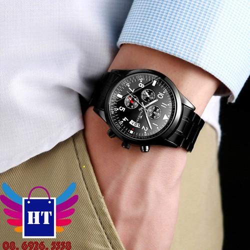 Đồng hồ nam 6 kim chính hãng Fngeen chống nước