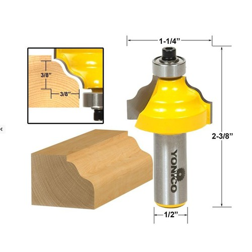 Mũi soi gỗ mũi phay gỗ phay cạnh gỗ vát hoa văn, cốt 12.7mm - 6417183 , 13039935 , 15_13039935 , 239000 , Mui-soi-go-mui-phay-go-phay-canh-go-vat-hoa-van-cot-12.7mm-15_13039935 , sendo.vn , Mũi soi gỗ mũi phay gỗ phay cạnh gỗ vát hoa văn, cốt 12.7mm