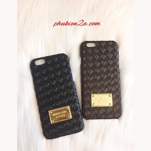 Ốp lưng Iphone 6 Plus, 6S Plus đan da Micha3l K0ss