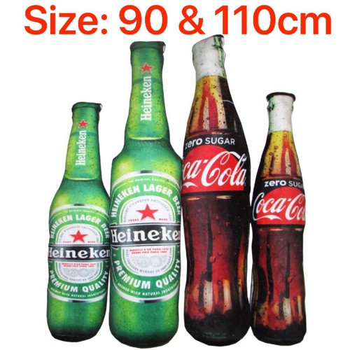 Gối ôm chai bia coca 90cm