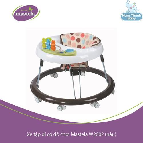 Xe tập đi có đồ chơi Mastela chính hãng - Nâu