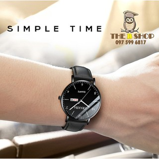 đồng hồ nam dây da - đồng hồ nam dây da 008 thumbnail