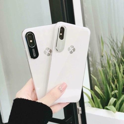 Ốp Bảo Vệ Camera TOTU IPhone X tặng Kính Full 5D