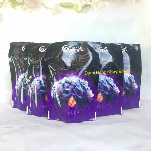 Combo 6 bịch Nước xả vải Comfort Nước hoa Bella bịch 120ml