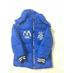 áo khoác phao 3 lớp cho bé trai 27-35kg
