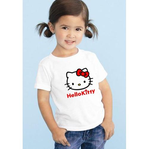 Áo thun nữ in hình mèo Kitty dễ thương
