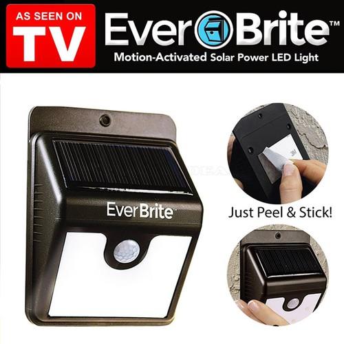 Đèn cảm biến năng lượng mặt trời Ever