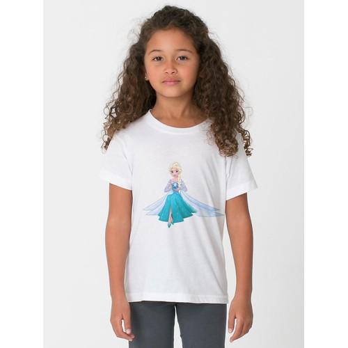 Áo thun bé gái in hình dễ thương - có 6 màu