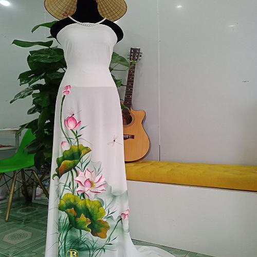 Vải áo dài vẽ Hoa Sen Đẹp Nhất- Vẽ Áo Dài Brahma - 6431276 , 13054439 , 15_13054439 , 700000 , Vai-ao-dai-ve-Hoa-Sen-Dep-Nhat-Ve-Ao-Dai-Brahma-15_13054439 , sendo.vn , Vải áo dài vẽ Hoa Sen Đẹp Nhất- Vẽ Áo Dài Brahma