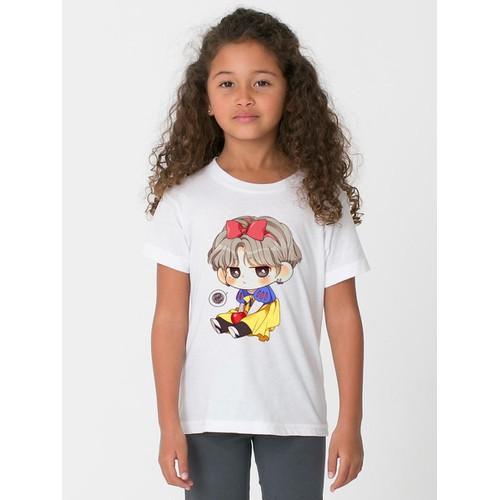Áo thun bé gái in hình đáng yêu - có 6 màu