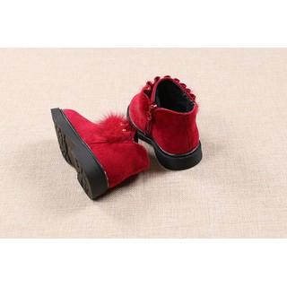 giày Bốt Bé Gái Size 22 và 24 da lộn mềm mịn [ĐƯỢC KIỂM HÀNG] [ĐƯỢC KIỂM HÀNG] 41844226 - 41844226 thumbnail