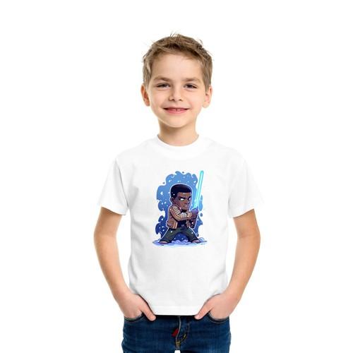 Áo thun bé trai in hình ngộ nghĩnh - có 5 màu
