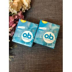 Hàng Đức Băng Vệ Sinh Tampon OB ProComfort Loại 3 giọt cho ngày ít