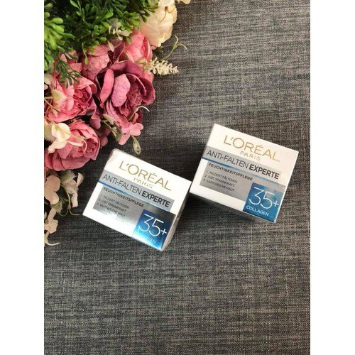 Kem dưỡng chống nhăn Loreal Collagen Anti-Falten 35+