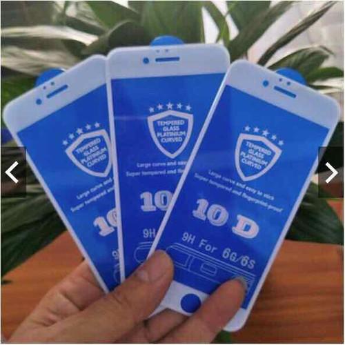 Kính cường lực 10D cho iphone 6,6s,6spl