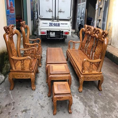 Bộ bàn ghế minh quốc đào gỗ lim - 6449116 , 13075722 , 15_13075722 , 14500000 , Bo-ban-ghe-minh-quoc-dao-go-lim-15_13075722 , sendo.vn , Bộ bàn ghế minh quốc đào gỗ lim