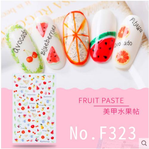 DỤNG CỤ LÀM MÓNG Manicure Sticker 12 THƯƠNG HIỆU CHARZIEG