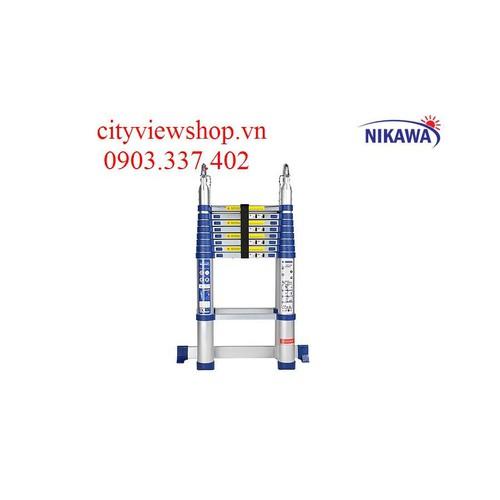 Thang nhôm rút đôi Nikawa NK-56AI