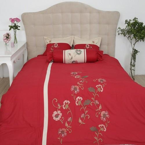 Vỏ chăn đông 200 x 220 cm Ashita - Màu đỏ