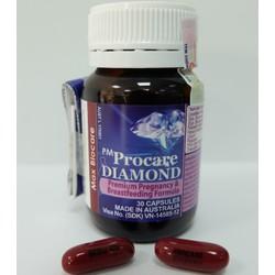 Procare DIAMOND bổ sung OMEGA 3 cho bà bầu