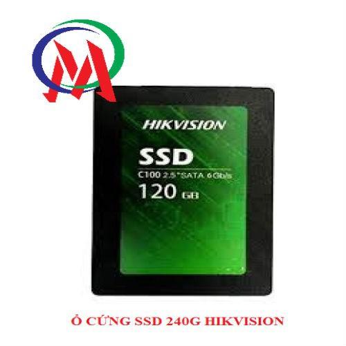 Ổ CỨNG SSD 120G HIKVISION CHÍNH HÃNG TEM ANH NGỌC TẶNG CÁP SATA