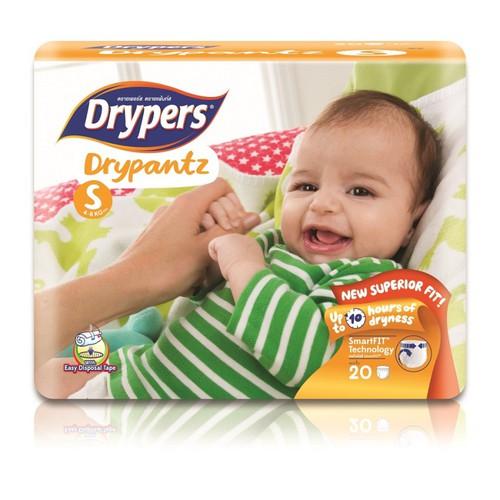 Tã bỉm quần DRYPERS DRYPANTZ S20 bé 4 - 8 Kg