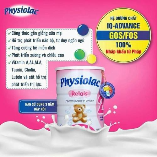 Sữa bột Physiolac  Relai2 900g - 6452140 , 13080741 , 15_13080741 , 395000 , Sua-bot-Physiolac-Relai2-900g-15_13080741 , sendo.vn , Sữa bột Physiolac  Relai2 900g