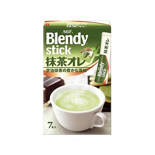 Trà Sữa Hòa Tan Blendy Stick 84g Vị Trà Xanh Thơm Ngon Nhật Bản