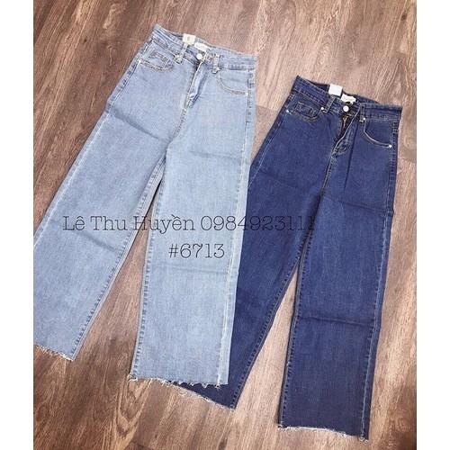 quần jeans nữ baggy ống rộng size - 6452436 , 13080970 , 15_13080970 , 250000 , quan-jeans-nu-baggy-ong-rong-size-15_13080970 , sendo.vn , quần jeans nữ baggy ống rộng size