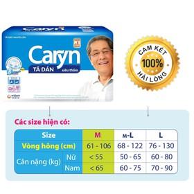 TÃ DÁN NGƯỜI LỚN CARYN M-L20 - 20 MIẾNG - OGTINH071