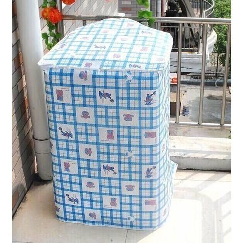 Áo trùm máy giặt cửa trên loại dày dưới 9kg