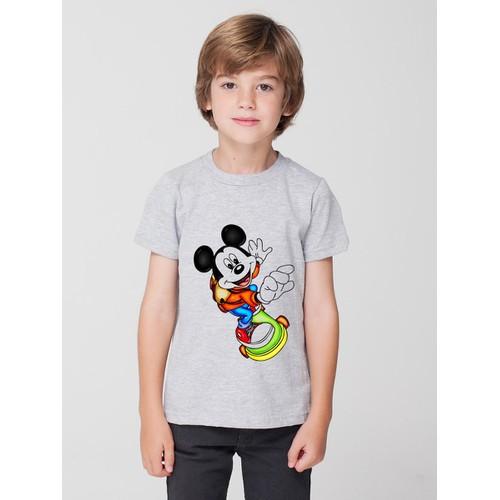 Áo thun bé trai in hình ngộ nghĩnh - có 4 màu
