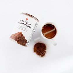 Bột Cacao nguyên chất không đường, vị đắng Light Cacao - Hũ 350g