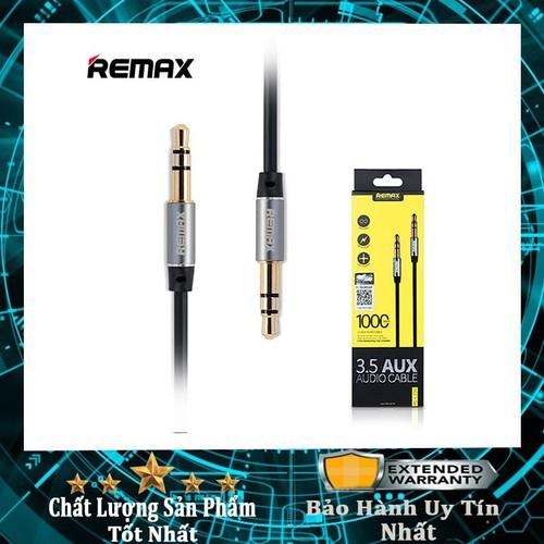 Cáp 2 đầu giắc 3.5 AUX Remax RL-L100✓Hàng chính hãng✓Bảo hành 06 tháng