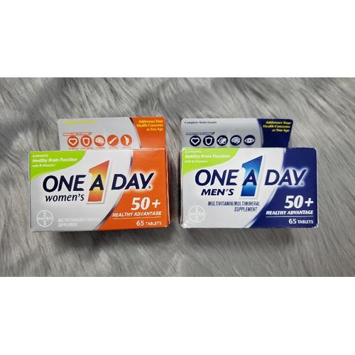 Vitamin tổng hợp One A Day dành cho nam và nữ trên 50t