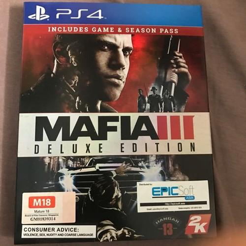 Đĩa game PS4: Mafia 3 Edition Deluxe