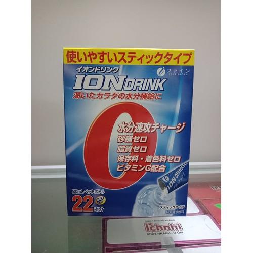 ION DRINK Japan vị cam hộp 22 gói hàng xách tay
