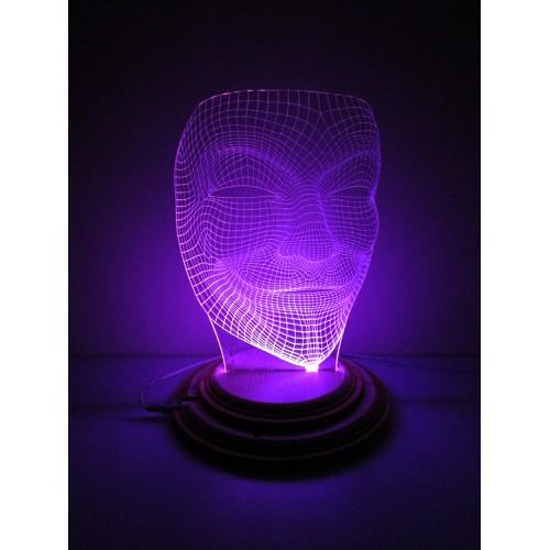 Đèn Led 3D Mô Hình Mặt Nạ Hacker Anonymous - 6455599 , 13084580 , 15_13084580 , 350000 , Den-Led-3DMo-Hinh-Mat-Na-Hacker-Anonymous-15_13084580 , sendo.vn , Đèn Led 3D Mô Hình Mặt Nạ Hacker Anonymous