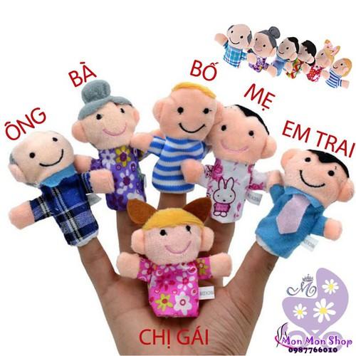 Bộ rối ngón tay gia đình đáng yêu cho bé - 6464091 , 13095941 , 15_13095941 , 75000 , Bo-roi-ngon-tay-gia-dinh-dang-yeu-cho-be-15_13095941 , sendo.vn , Bộ rối ngón tay gia đình đáng yêu cho bé