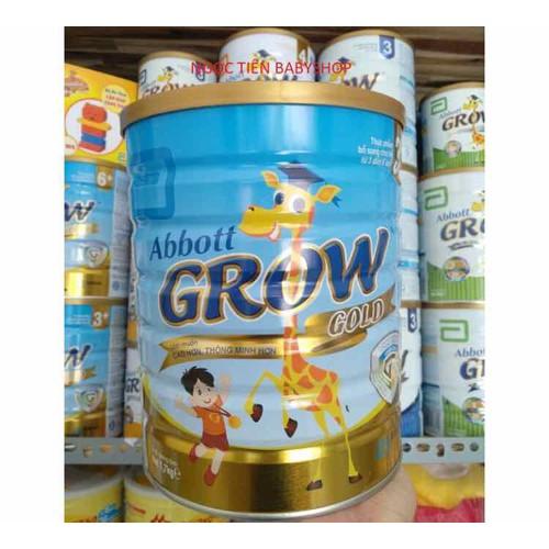 Sữa abbott grow 3 gold  lon 1kg7  date 2021