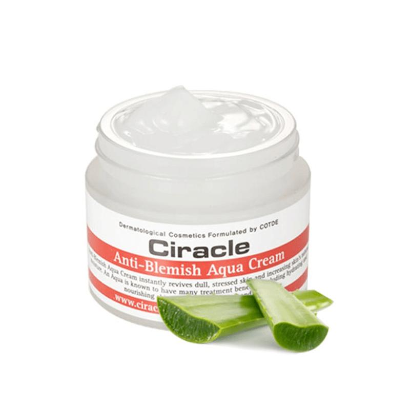 Kem Dưỡng Cho Da Mụn Ciracle Anti-Blemish Aqua Cream