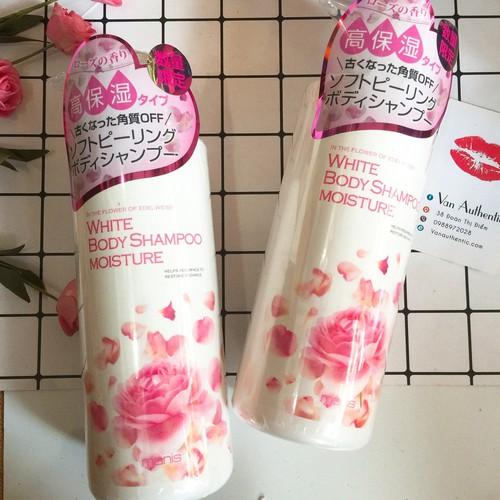 Sữa tắm Manis White Body Shampoo Moisture Nhật Bản 450ml