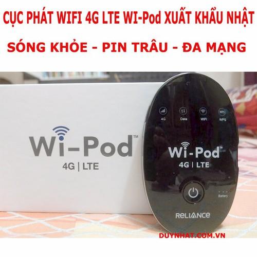 BỘ PHÁT WIFI KHÔNG DÂY CHÂU ÂU - ZTE WD670 4G lTE
