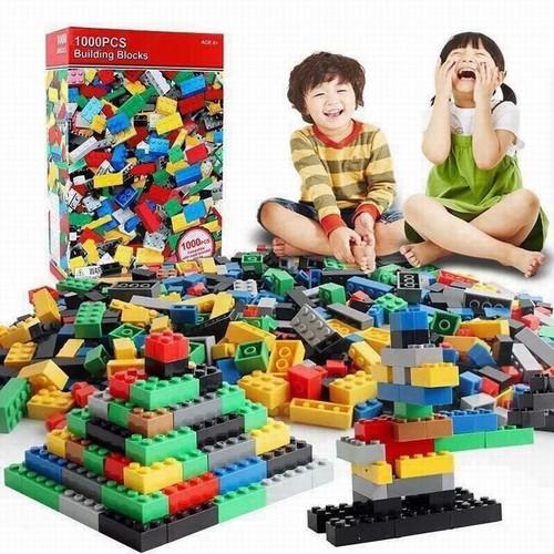 bộ đồ chơi xếp hình bằng nhựa- Bộ xếp hình 1000 chi tiết cho bé   ALIBABUM277 CAM KẾT CHẤT LƯỢNG LÀM NÊN THƯƠNG HIỆU