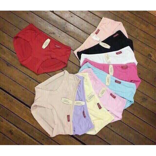 set 10 quần lót nữ cotton 40-60kg